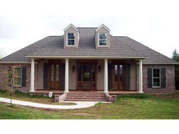 Ranch House Plan, 001H-0225