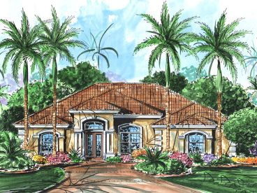Florida House Plan, 037H-0176