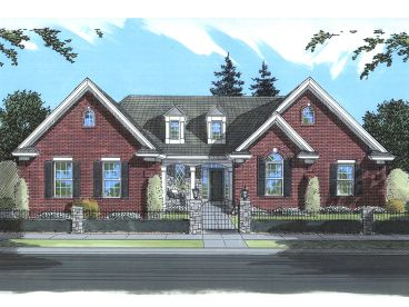 Traditional Home Plan, 046H-0017