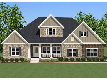 Two-Story House Plan, 067H-0005