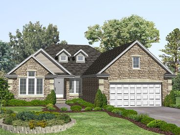 Ranch House Plan, 016H-0015