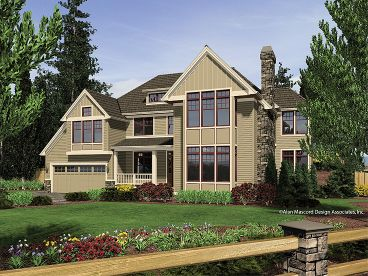 Two-Story House Plan, 034H-0144