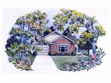 Narrow Lot Home Design, 019H-0094