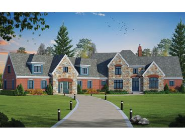 European House Plan, 031H-0288