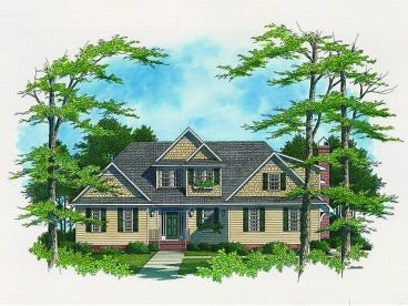 European House Plan, 030H-0069