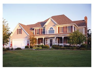 Country Home Plan, 023H-0120