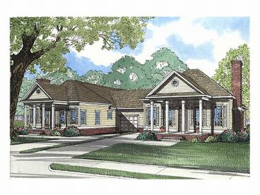 Multi-Family House Plan, 025M-0020