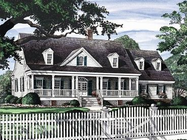 Country Home Design, 063H-0006
