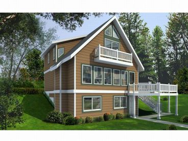 Vacation House Plan, 026H-0112