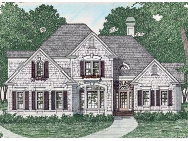 2-Story House Design, 045H-0057