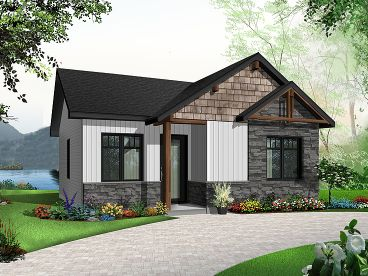 Tiny House Plan, 027H-0462