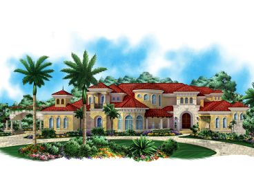 Premier Luxury House Plan, 037H-0170