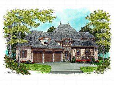 Two-Story House Design, 029H-0048