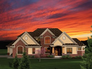 Traditional House Plan, 020H-0283
