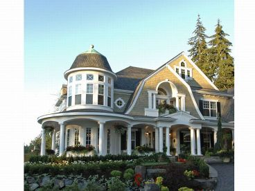 Luxury Home Plan, 035H-0040