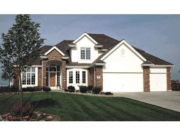 Two-Story Home Plan, 031H-0016