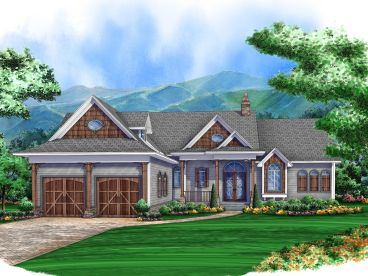 Mountain House Plan, 070H-0013