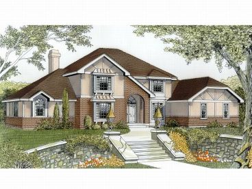 European House Plan, 026H-0004