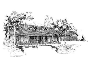 Country House Design, 013H-0008