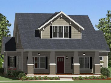Craftsman House Plan, 067H-0003