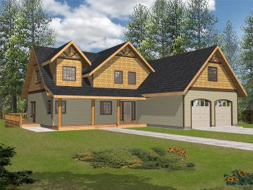 Two-Story House Plan, 012H-0154
