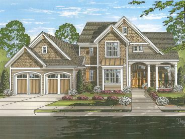 Two-Story House Plan, 046H-0137