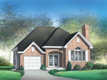 Small Ranch Home Plan, 072H-0042
