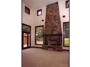 Family Room Fireplace, 035H-0020