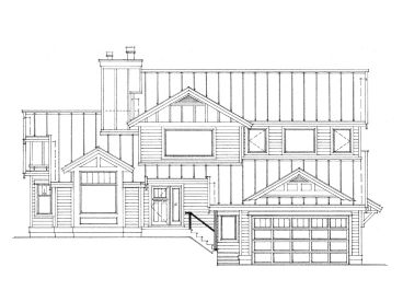 Family House Plan, 010H-0021