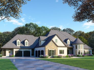 Multi-Generational House Plan, 074H-0065
