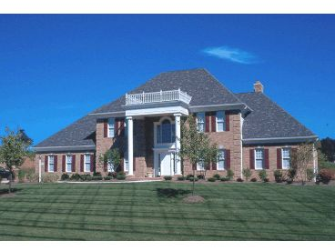 Colonial House Plan, 031H-0060