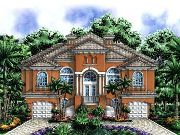 Sunbelt House Plan, 037H-0154