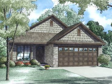 Small Ranch House Plan, 025H-0323