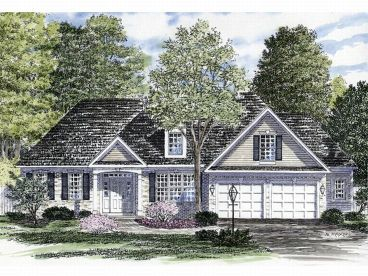Traditional House Plan, 014H-0015