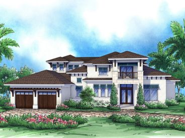 Two-Story Home Design, 069H-0010