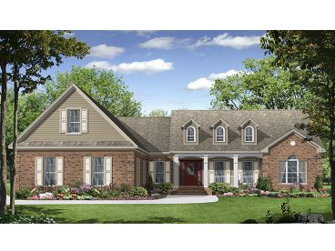 Country House Plan, 001H-0161
