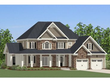 Traditional House Plan, 067H-0043