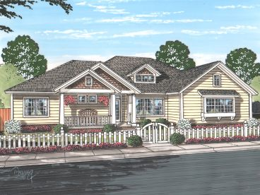 Ranch Home Design, 059H-0197