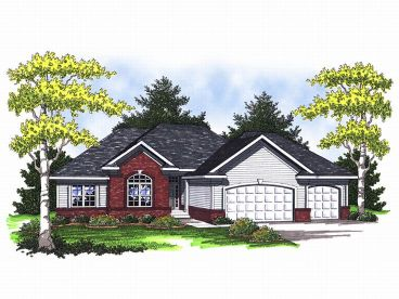 Traditional House Plan, 020H-0130