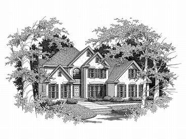 Sunbelt House Plan, 019H-0101