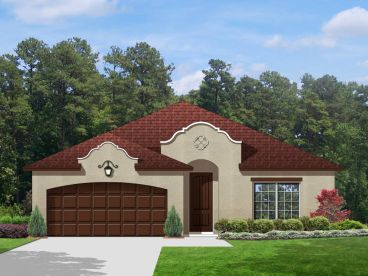 Spanish Home Plan, 064H-0059