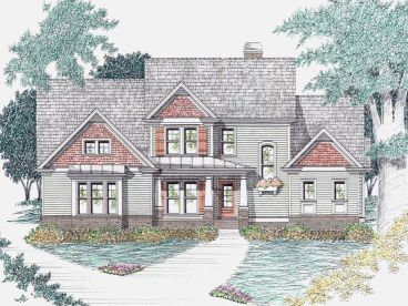 Two-Story Home Design, 045H-0056
