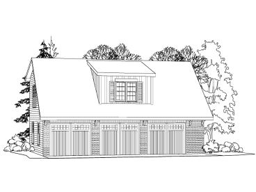 Carriage House Plan, 053G-0008
