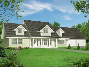 Country Home Plan, 012H-0183