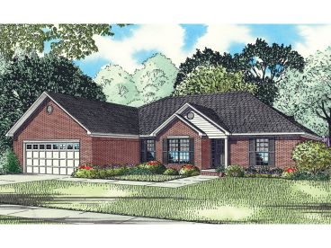 Traditional House Plan, 025H-0176