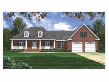 One-Story House Plan, 001H-0089