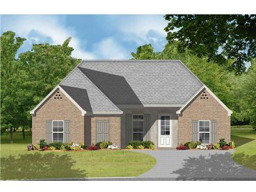 Small 1-Story Home Plan, 060H-0011