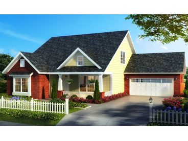 Bungalow House Plan, 059H-0213