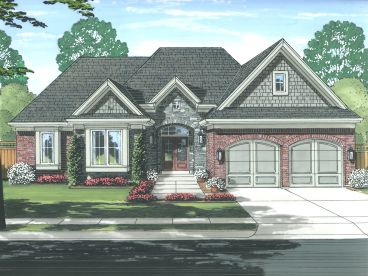 Ranch Home Plan, 046H-0136