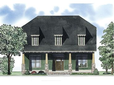 Craftsman House Plan, 025H-0245